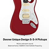 Donner DST-102R Solid Body 39 Inch Full-Size
