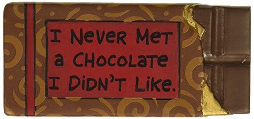(Enesco Our Name is Mud - Chocolate Never Met Magnet)