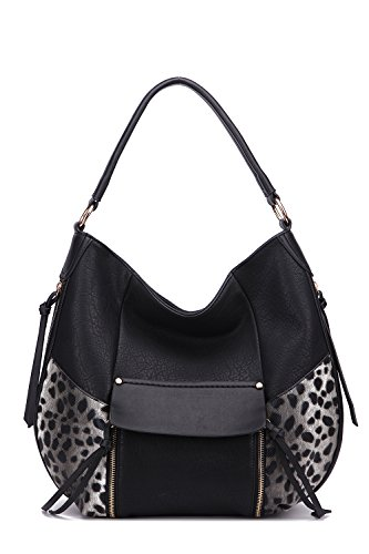 Hobo Handbags Shana Exclusive Crossbody Shoulder Bag MKF Collection Designer Handbags by Mia K. Farrow - Mia Fashion Farrow