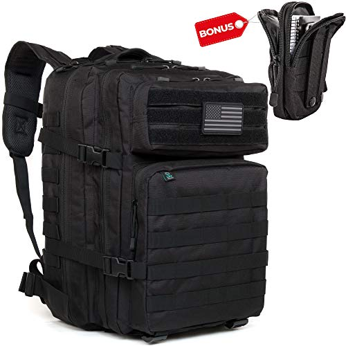 LPV PRODUCTS Military Tactical Backpack Molle | Large Back Pack | Best Army Survival Gear for Men and Women - 3 Day Assault Pack Molle Bug Out Bag - Bag for Laptop