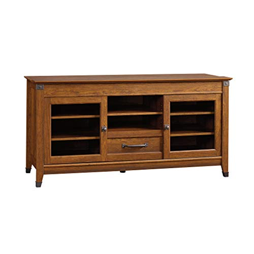 Sauder 412922 Carson Forge Entertainment Credenza, For TV's up to 60
