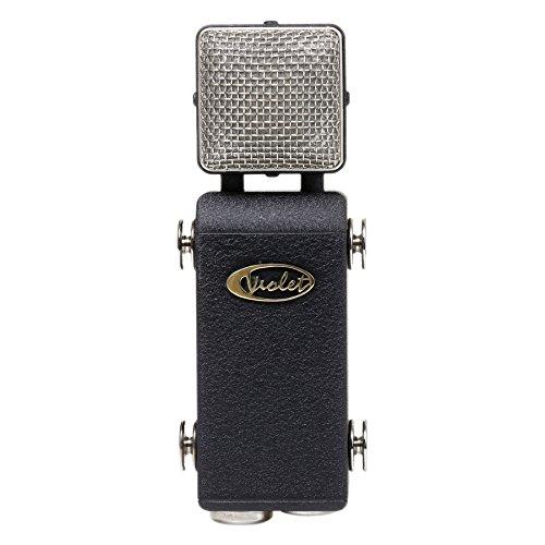 Violet Microphones AMETHYST-VINTAGE Cardioid Condenser Microphone, Dual Diaphragm, dark grey body ()