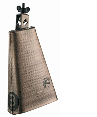 Meinl Percussion STB80BHH-C 8-Inch Big Mouth Hand Hammered Steel Cowbell, Copper Color Finish by Meinl USA L.C.