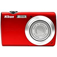 Nikon Coolpix S203 Digital Camera (Red) Noticeable Review Image