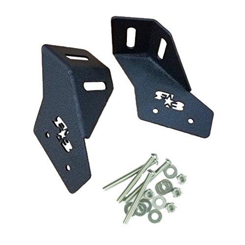 RokBlokz Light Bar Mount Bracket for Can Am Maverick X3 - Mount Light Bars and Pods with Multiple Mounting Points - Fits 42.5-45.5 Lights (Matte Black)