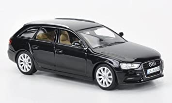 Audi A4 Avant Schwarz 2012 Modellauto Fertigmodell Minichamps 1