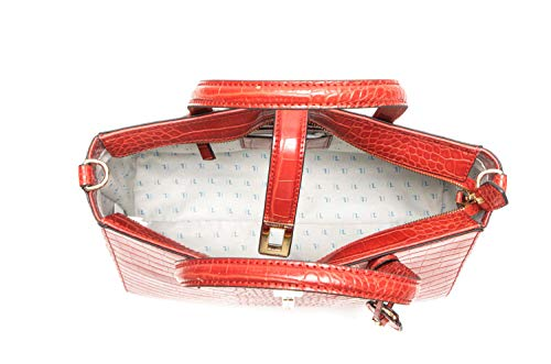 Ecoleather Suzanne Bag Jeans Borsa Red Printed Cocco Donna Trussardi Tote ZTfq1