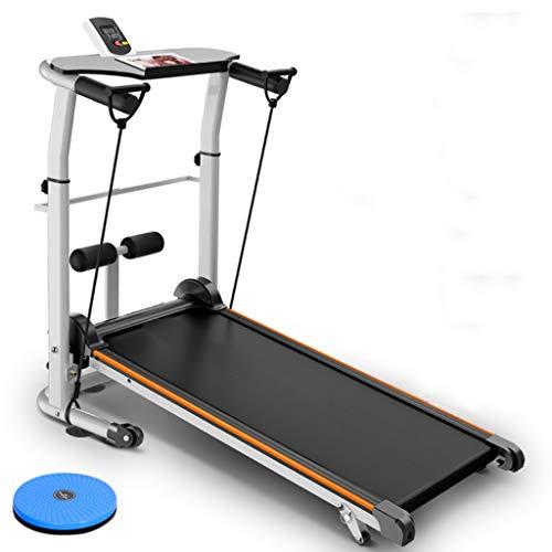 Treadmills QFF@ Opvouwbare Handmatige Wandelen Verstelbare Hoogte Helling Niet Gemotoriseerde Mini Fitness Wandelmachine…