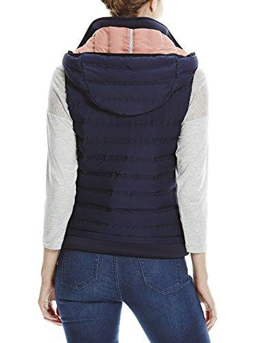 Bench Asymmetric Insulator Vest, Chaleco para Exterior para Mujer Blau (Maritime Blue BL193)
