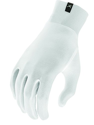 Terramar Adult Thermasilk Ultra-Thin Performance Liner Gloves, Natural, Large (8.5-9)