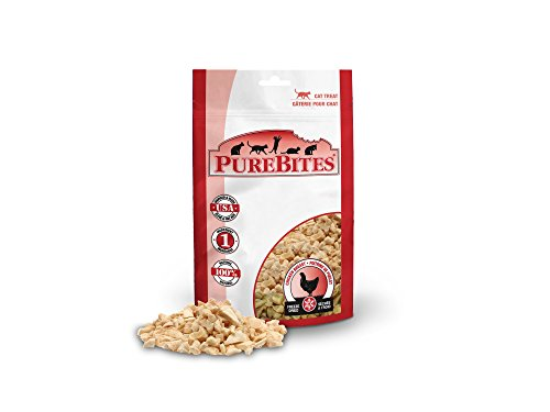PureBites Chicken Breast for Cats, 1.09oz / 31g - Value Size (Treats Pure)