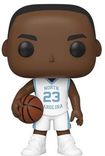Funko 46788 Pop Baloncesto UNC-Michael Jordan (Camiseta de la Manera) Juguete Coleccionable, Multico