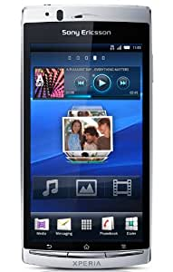 "Sony Xperia Arc S - Smartphone libre Android (pantalla táctil de 4,2"" 854 x 480, cámara 8.1 MP, 1 GB de capacidad, procesador de 1.4 GHz, S.O. Android 2.3) color plata [importado de Alemania]"