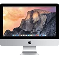 Apple iMac 21.5-Inch Desktop - 3.1GHz, Quad-core Intel Core i5, 512GB PCIe-based Flash Storage, 16GB 1867MHz LPDDR3, Intel Iris Pro Graphics 6200, OS X El Capitan (NEWEST VERSION)