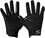 Cutters Gamer Padded Football Glove for Lineman and All-Purpose Player. Grip Football Glove. Youth & Adult