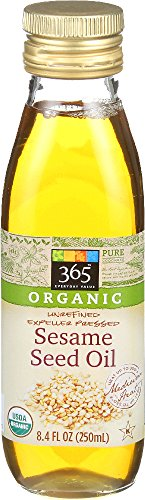 Price comparison product image 365 Everyday Value,  Organic Sesame Seed Oil,  8.4 Fluid Ounce