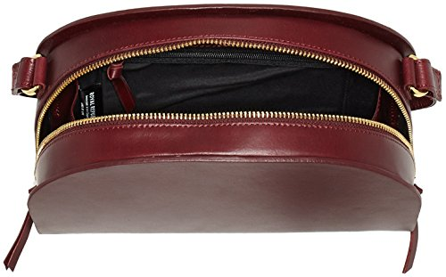 Royal Republiq Galax Curve - Bolsos bandolera Mujer Rojo (Bordeaux)