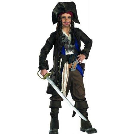 Captain Jack Sparrow Prestige Premium Costume - Small