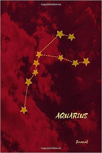 Amazon com: Aquarius Journal: Zodiac Planner And Notebook