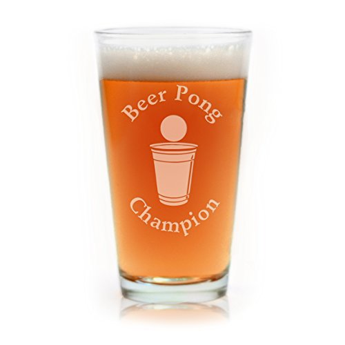 Engraved-Beer-Pong-Champion-Beer-Glass
