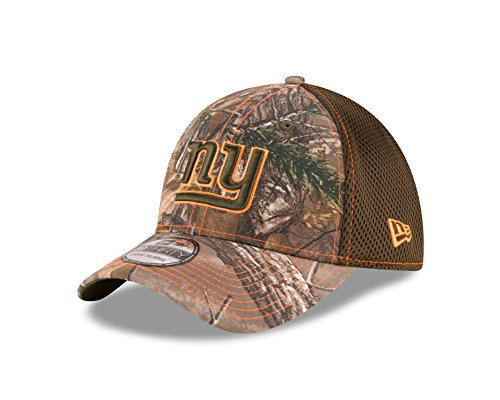 Giants Camo (NFL New York Giants Realtree NEO 39THIRTY Stretch Fit Cap, Medium/Large, Realtree)