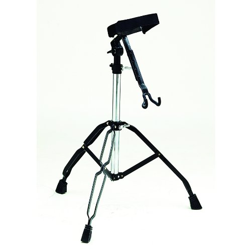 Djembe Percussion Stand (Tycoon Percussion Black Powder Coated Djembe Stand)
