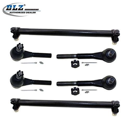 dlz-6-pcs-front-suspension-kit-2-inner-2-outer-tie-rod-end-2-tie-rod-adjusting-sleeve-for-1995-2002-