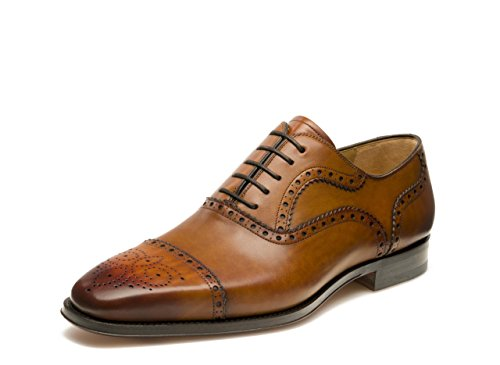 Magnanni Men's Santiago Oxford,Catania Cognac,11.5 M US