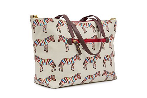 Pink Lining Notting Hill Tote Zebra Crossing Changing Bags by Pink Lining