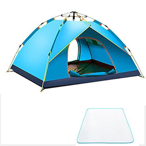 教義戦い起きる自動ポップアップテント、油圧スプリングテント、屋外防水単層テント、天井、ガゼボ、家族キャンプテント、キャンプ、ハイキングテントFyxd (色 : S s)