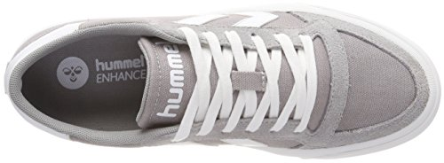 Hummel Unisex Adults' Stadil RMX Low Trainers, Grey/White Grey (Alloy 1100)