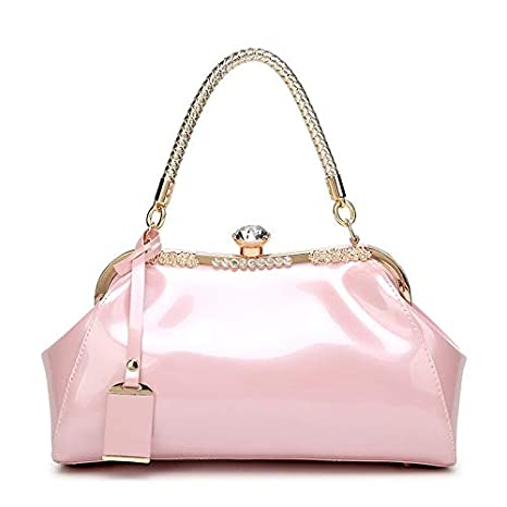 36d545ae2590 Image Unavailable. Image not available for. Color  Women Luxury Handbags  Stylish Female Shoulder Bags sac a Main bolsos 2018 Ladies pu Leather  Messenger