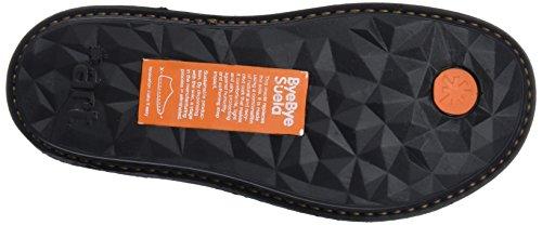 Zapatillas Black Art Cordones Black Negro Mujer para Grass sin Oqf1R