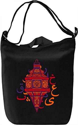 Lantern Borsa Giornaliera Canvas Canvas Day Bag| 100% Premium Cotton Canvas| DTG Printing|