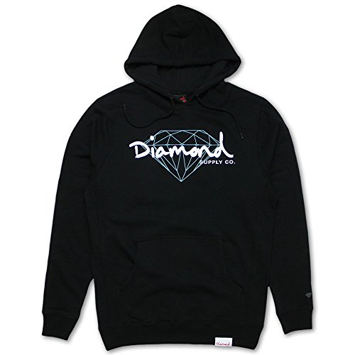 Diamond Supply Co Brilliant Script Hoodie Black by Diamond Supply Co