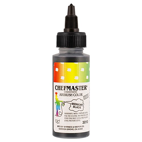Chefmaster by US Cake Supply 2-Ounce Airbrush Cake Food Colo
