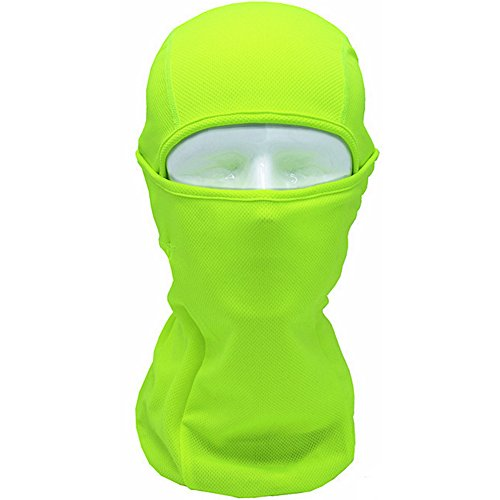 Chen Ski Face Mask Motorcycle Cycling Bike Bandana Hiking Skateboard Balaclava (Green)