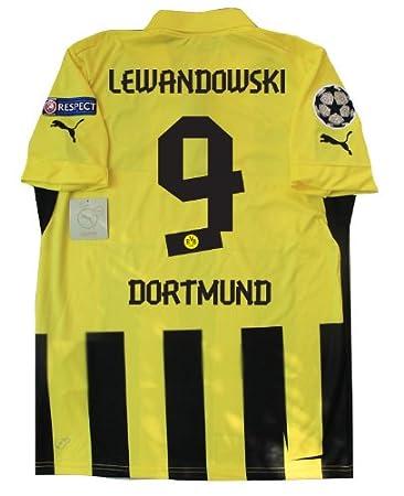 save off 76f0a 05528 Amazon.com : 2012-13 Borussia Dortmund 3rd UCL Soccer Jersey ...