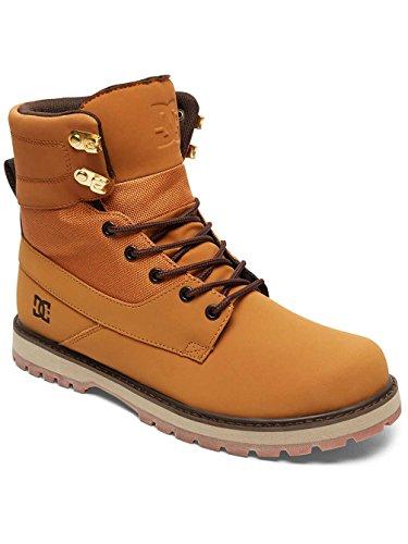 DC Shoes Uncas - Schnürstiefel Für Männer ADYB700009 WHEAT/BLACK/DK CHOCOLATE