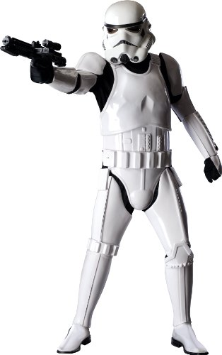 Rubie's Collector Supreme Edition, Star Wars, Stormtrooper Costume, White, Adult Standard