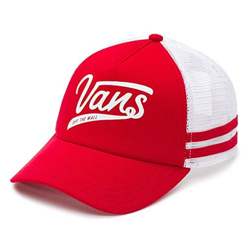 dc61169fc37 Vans Ol Sport Mesh Trucker Hat - Red at Amazon Men s Clothing store