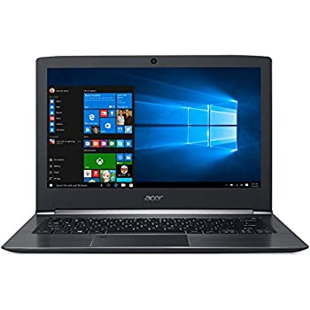 "Acer Aspire S 13 Touch, 13.3"" Full HD, Intel Core i7, 8GB LPDDR3, 256GB SSD, Fingerprint Reader, Windows 10, S5-371T-78TA"