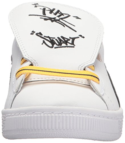 Pictures of PUMA Baby Basket Tongue Kids Sneaker White 36515201 6
