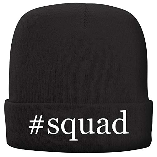 Squad Mod Fabric (BH Cool Designs #Squad - Adult Comfortable Fleece Lined Beanie, Black)
