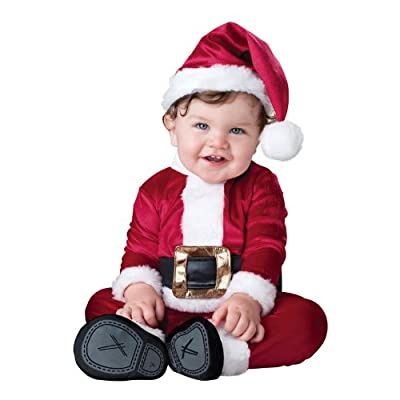 InCharacter Costumes Baby's Baby Santa Costume: Clothing