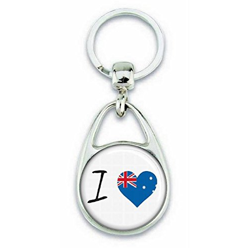 Angora J'aime L'australie Porte Clés ' 7waq74xrU