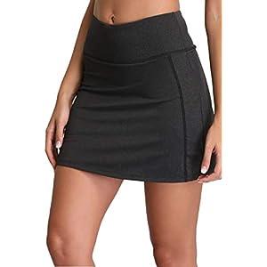 חצאית אתלטית קצרה שחורה המיועדת לנשים רק באתר tennisnet!