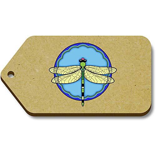Motive' X 'Dragonfly Tag regalo bagaglio tg00078077 10 66mm Azeeda 34mm vRWtAt