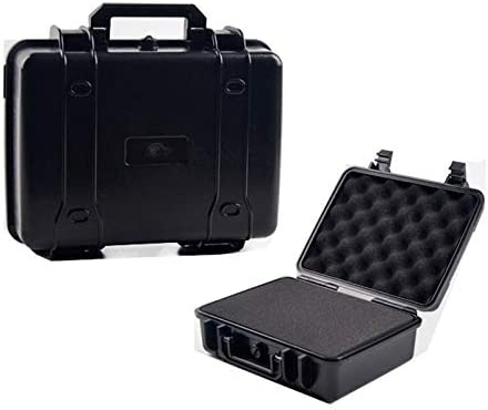 270x230x100mm ABS Plastic Sealed Tool Box Safety Equipment Instrument Camera Case Impact Resistant Tool Case with Foam