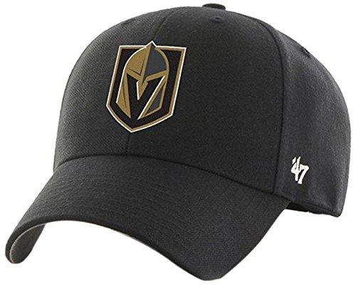 - '47 NHL Las Vegas Golden Knights MVP Adjustable Hat, One Size, Black
